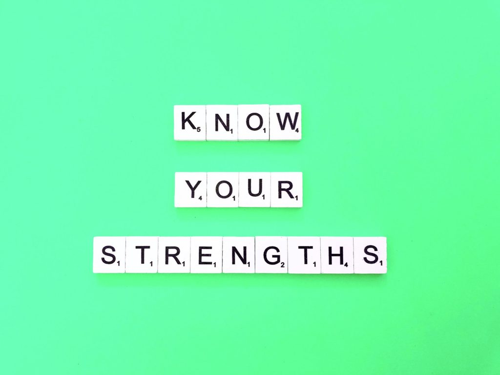 Know your strengths. Quote. Quotes.